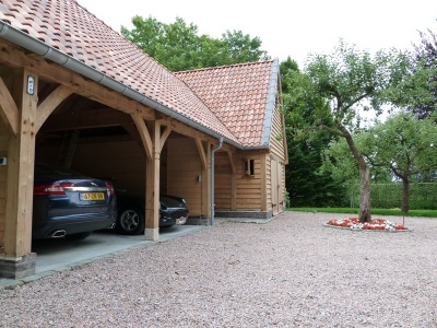 eiken garage carport